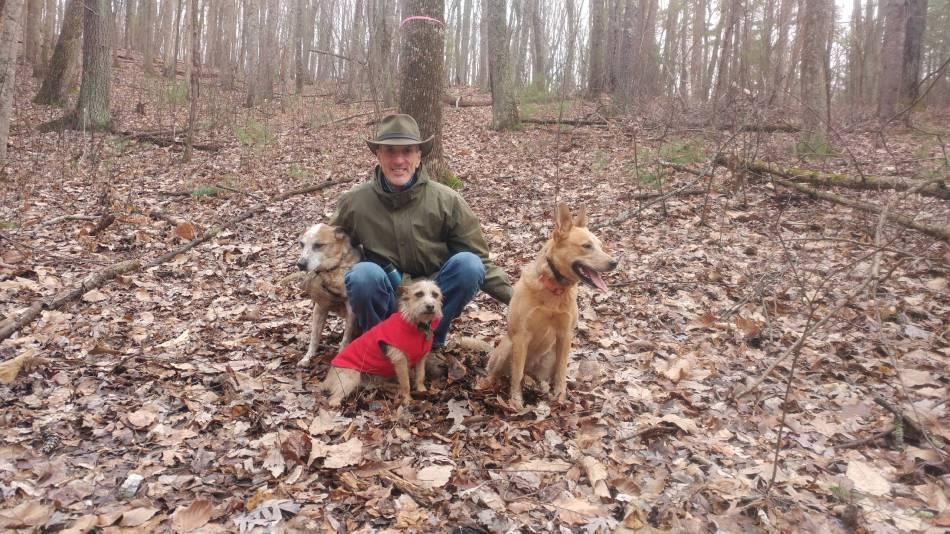 Me, Scout, Winnie, & Stella