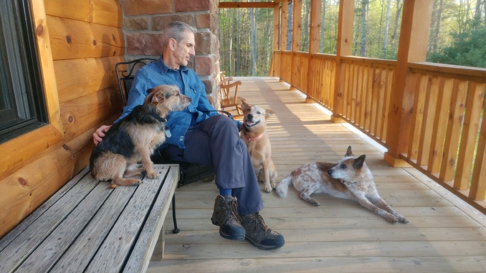 A pic of me & dogs on porch_4.15.20